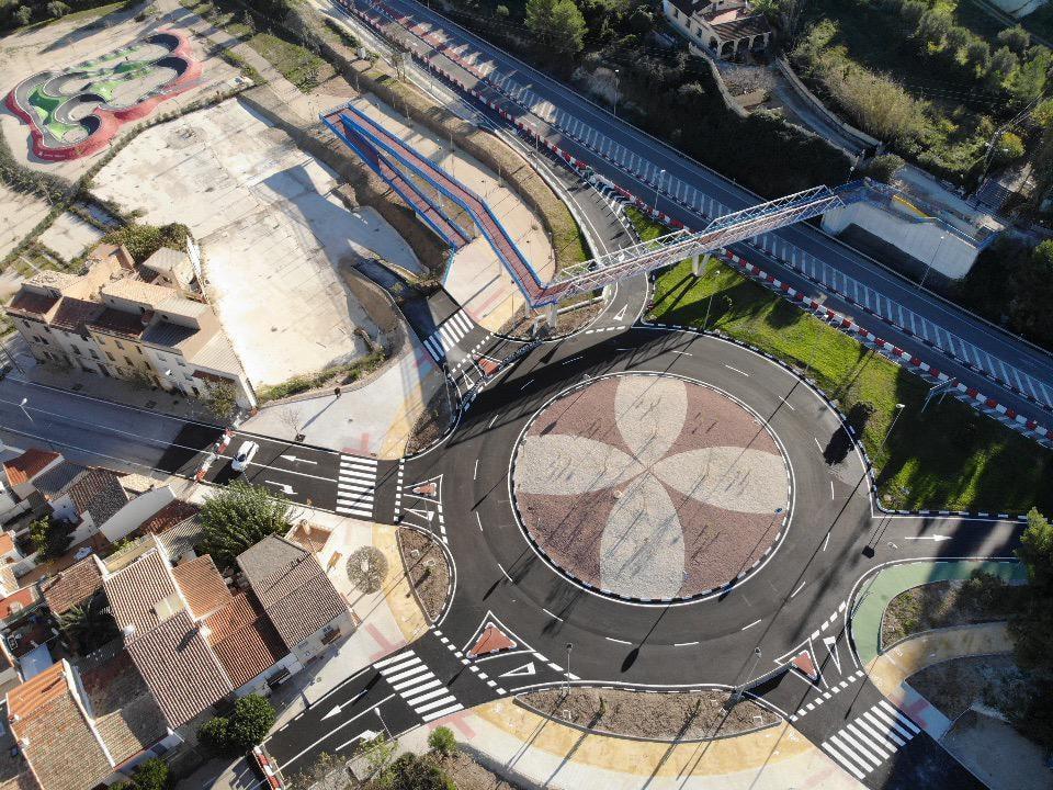 Obrin la rotonda de Torrefiel amb canvis al trànsit El Periòdic d'Ontinyent - Noticies a Ontinyent