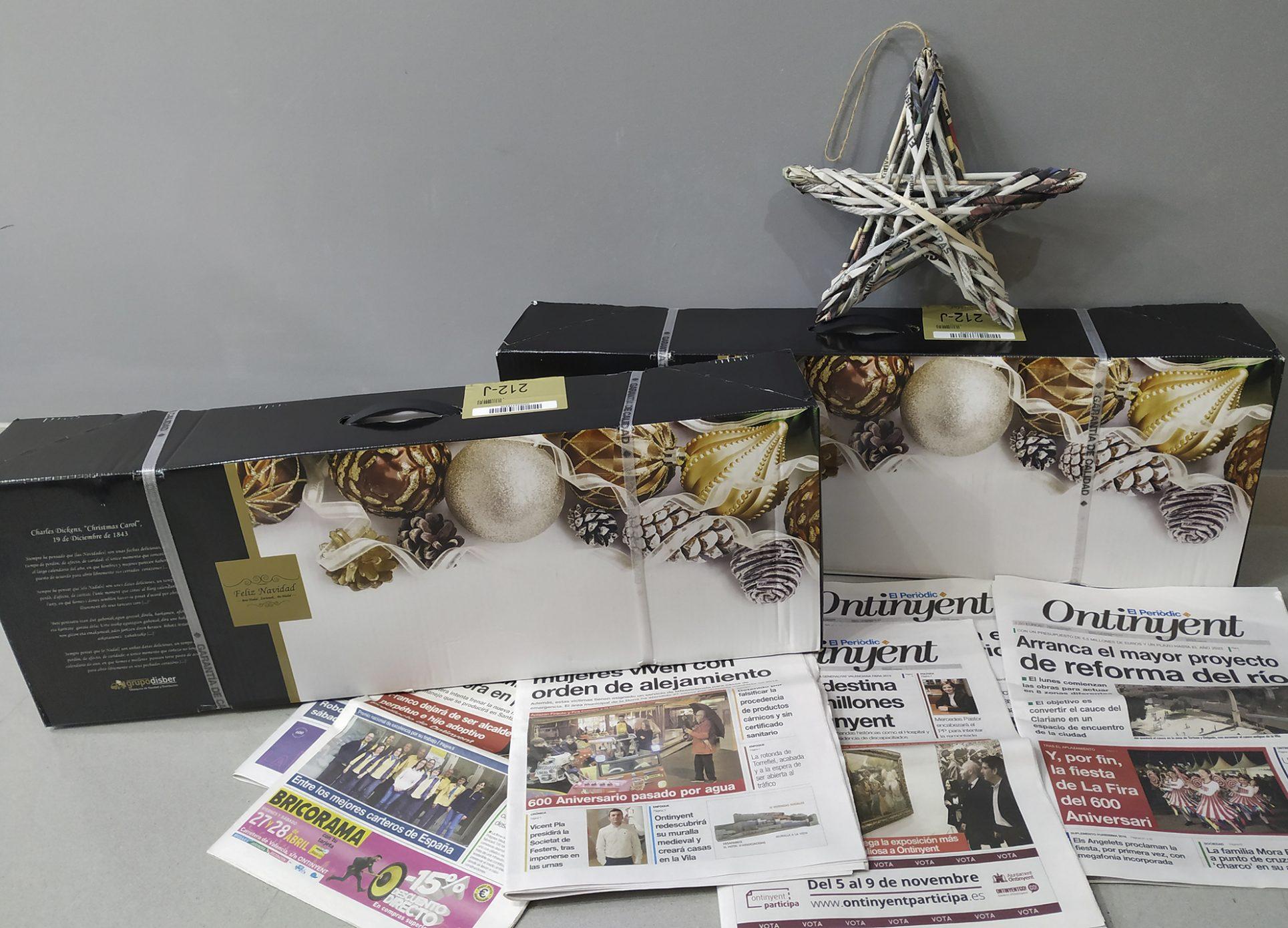 Eres lector d'El Periòdic d'Ontinyent? Pots guanyar una cistella nadalenca El Periòdic d'Ontinyent