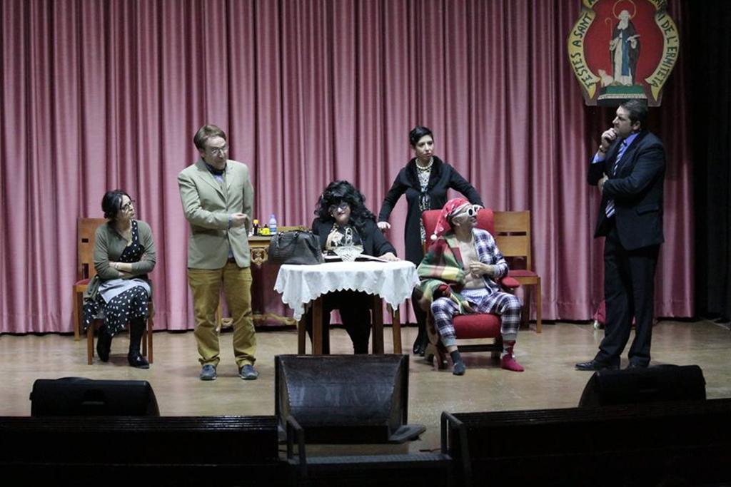 El teatre Echegaray acull la representació del sainet 'Heretarem o què fem?' El Periòdic d'Ontinyent