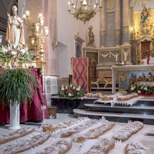El Ràfol de Salem celebra Sant Blai amb el tradicional 'porrat'