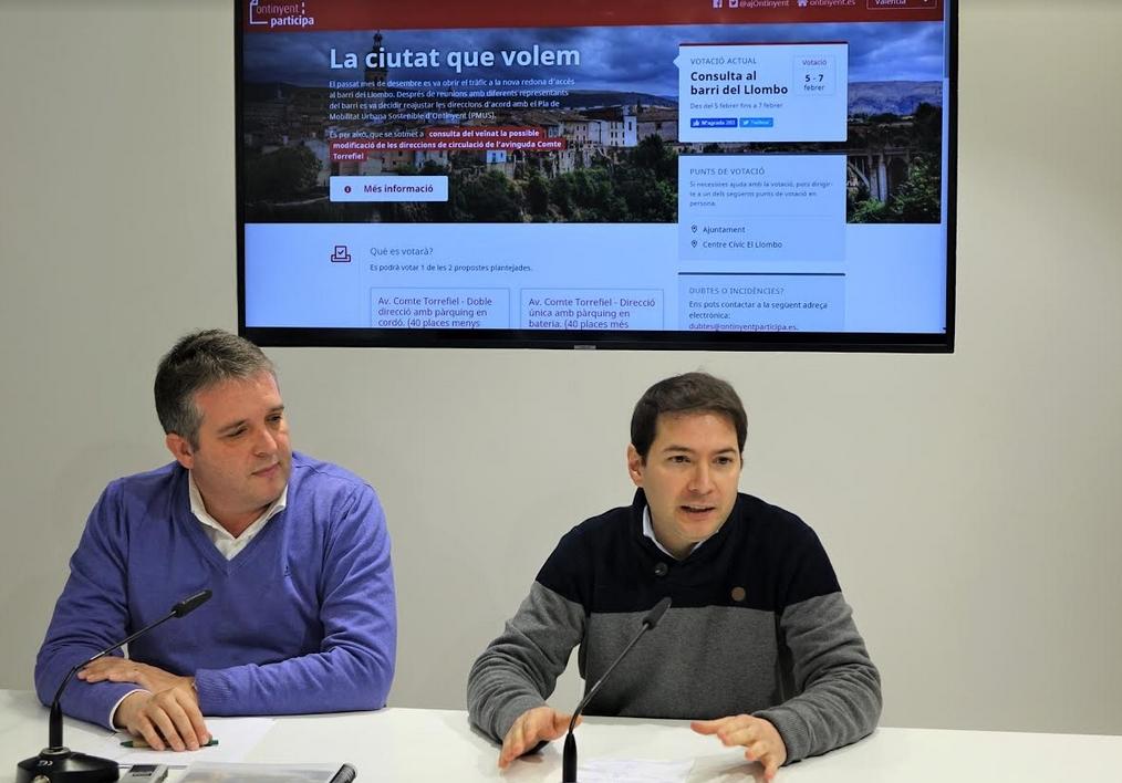 Els veïns del Llombo votaran la reordenació definitiva del trànsit en Torrefiel El Periòdic d'Ontinyent
