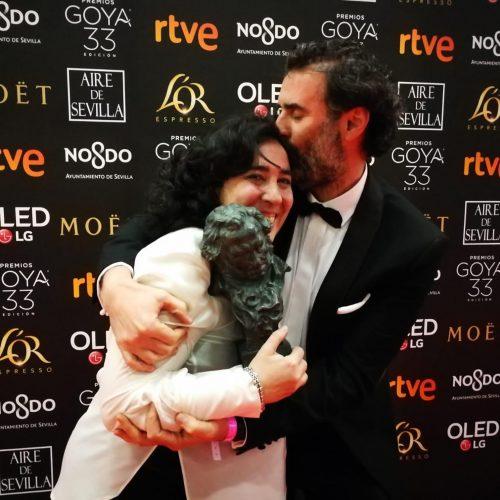Jorge Calatayud guanya el Goya amb l'equip de 'Carmen y Lola'