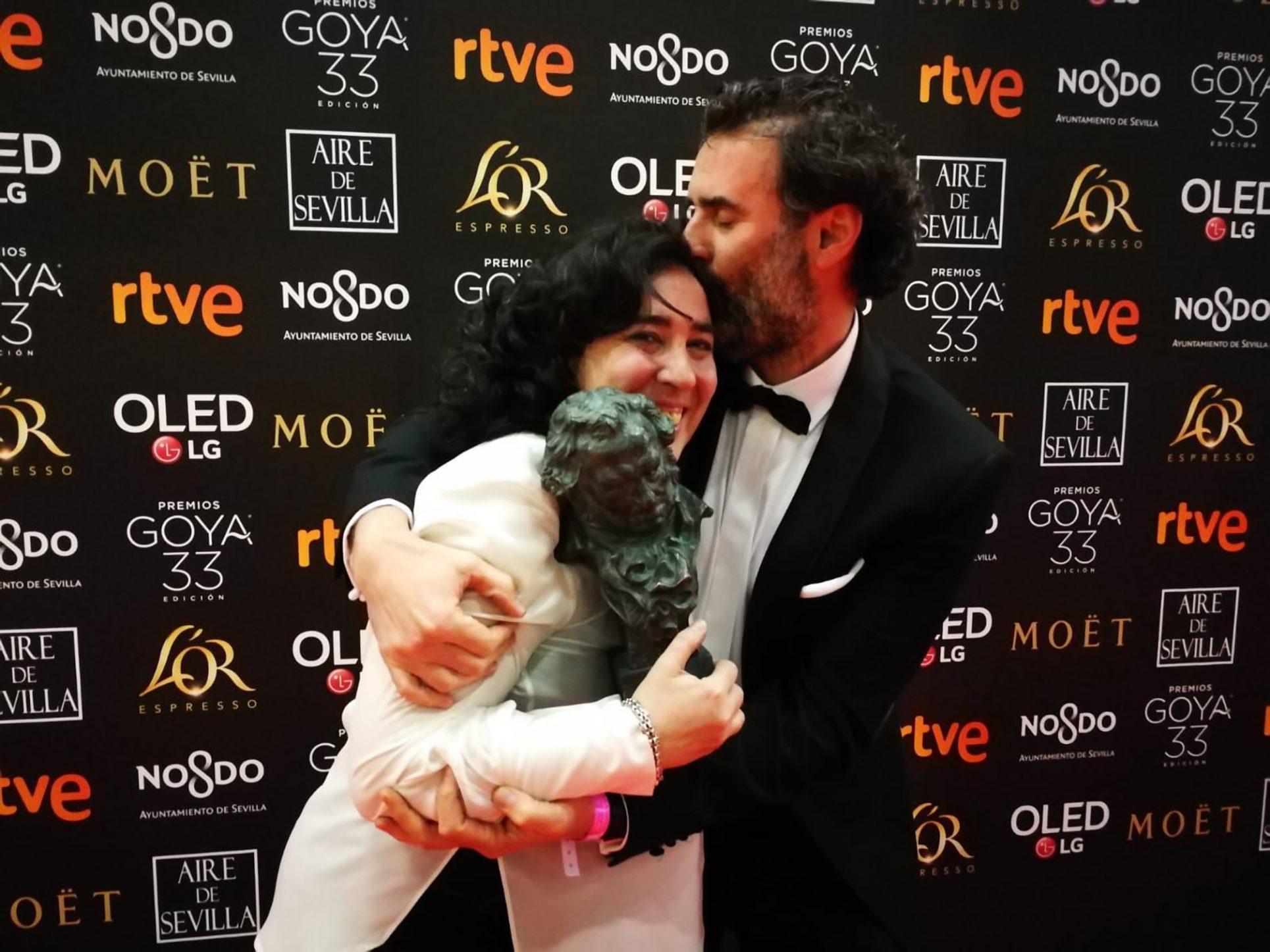 Jorge Calatayud guanya el Goya amb l'equip de 'Carmen y Lola' El Periòdic d'Ontinyent