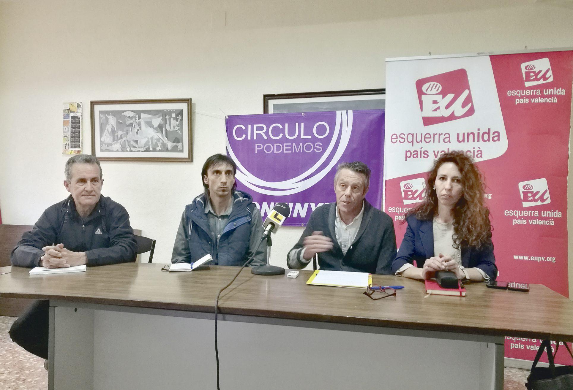 EUPV i Podem fan primàries per escollir els candidats de la confluència El Periòdic d'Ontinyent