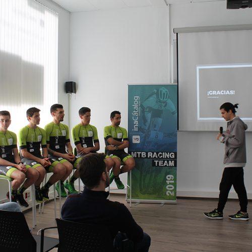 Aquest matí s'han donat a conéixer els nous ciclistes de l'equip 'InaCatalog Racing Team'
