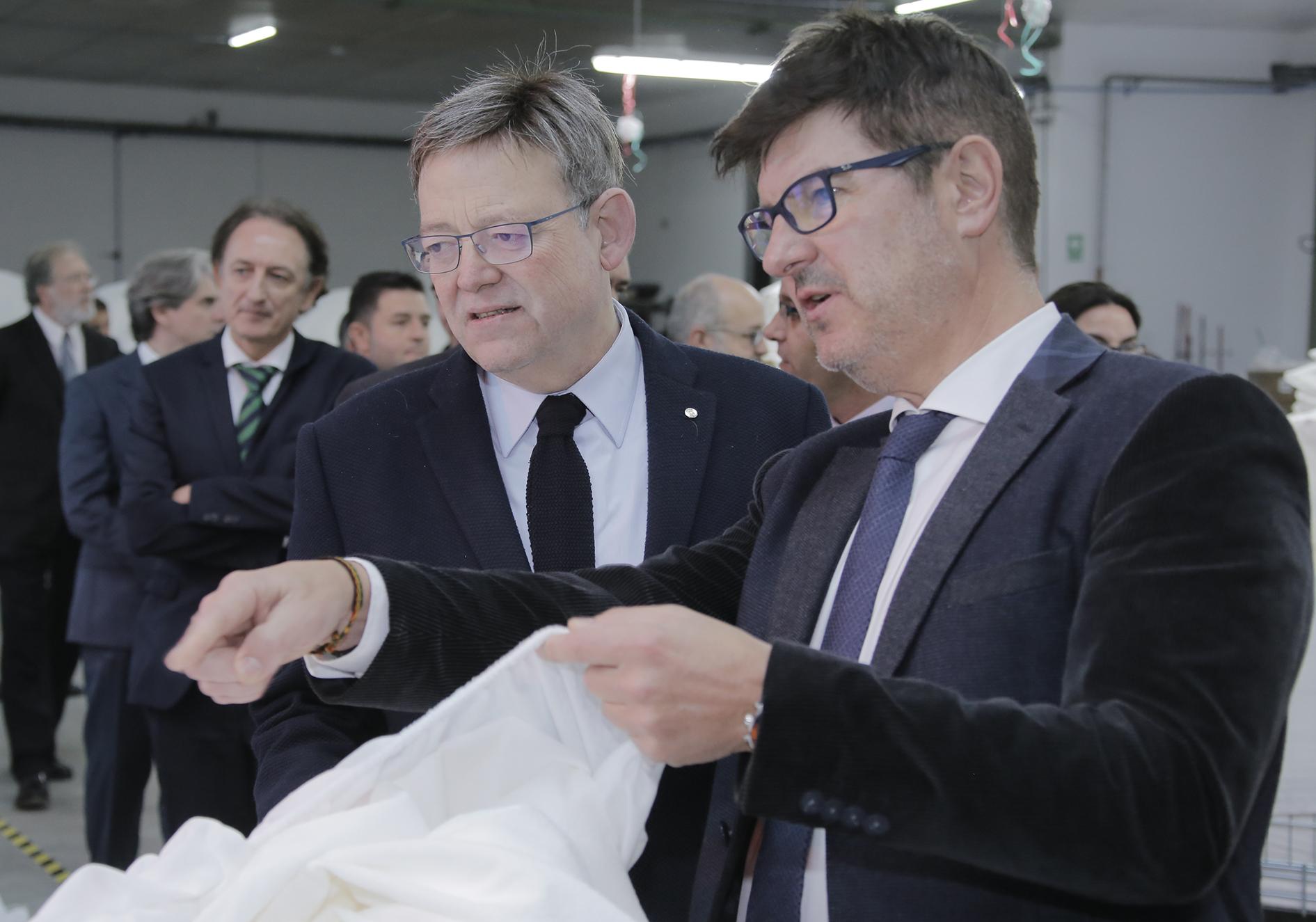Creen un additiu natural per al tèxtil que frena la contaminació El Periòdic d'Ontinyent