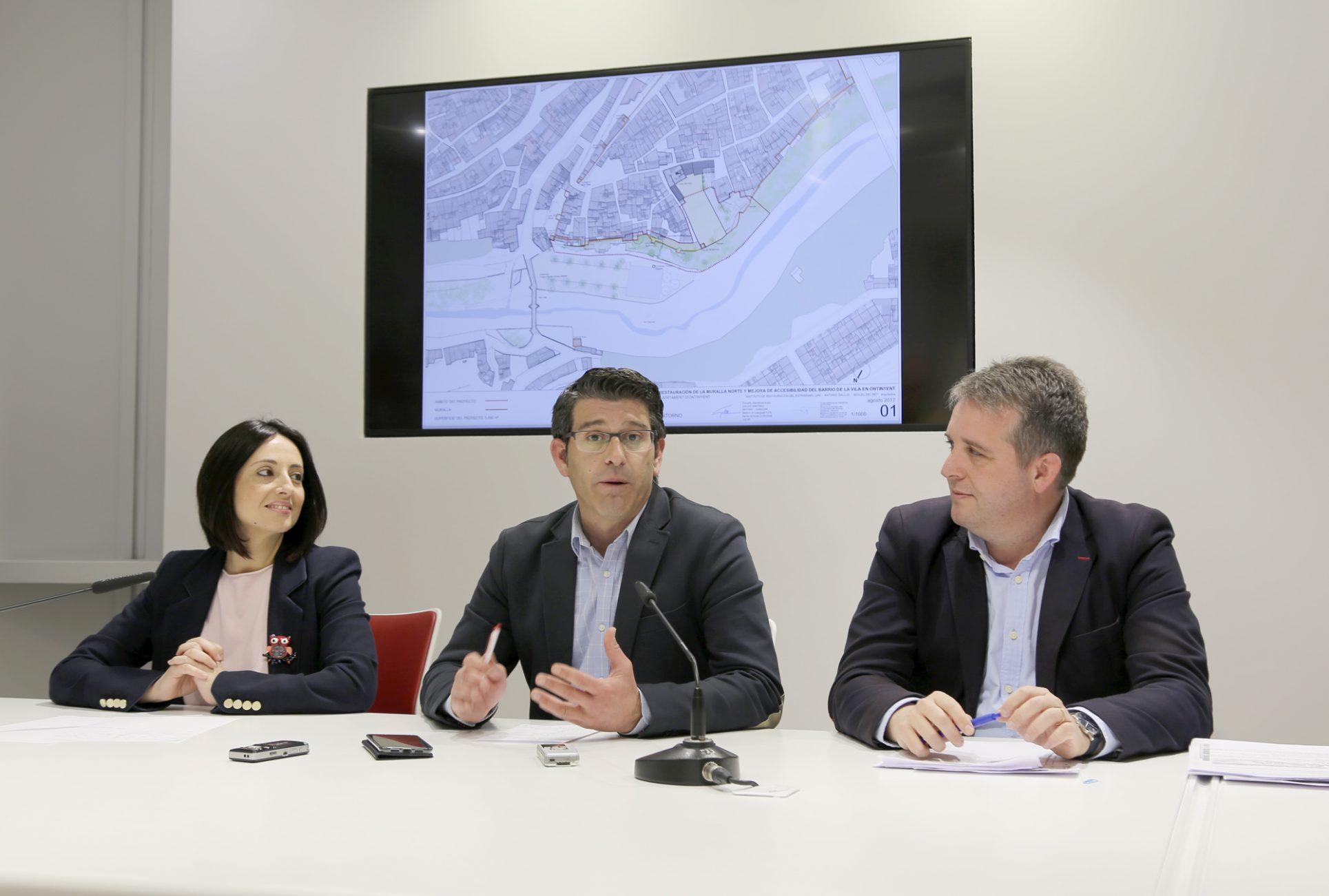 El Ministeri dóna 1 milió d'euros per recuperar la muralla Nord El Periòdic d'Ontinyent