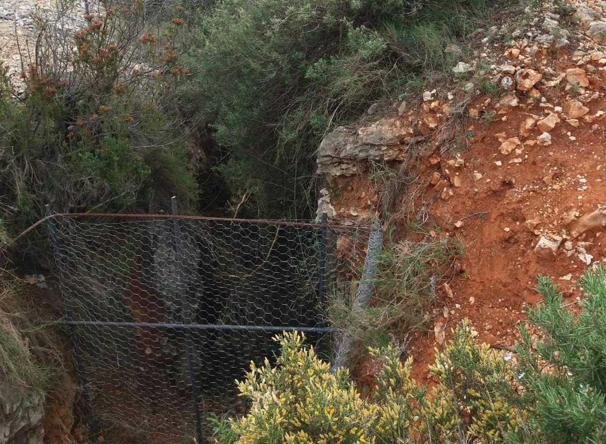 Alertan del peligro de un pozo de 100 metros de profundidad en el Torrater El Periòdic d'Ontinyent