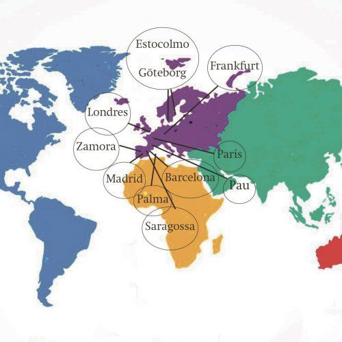 16 ontinyentins, en una xarxa de suport professional internacional