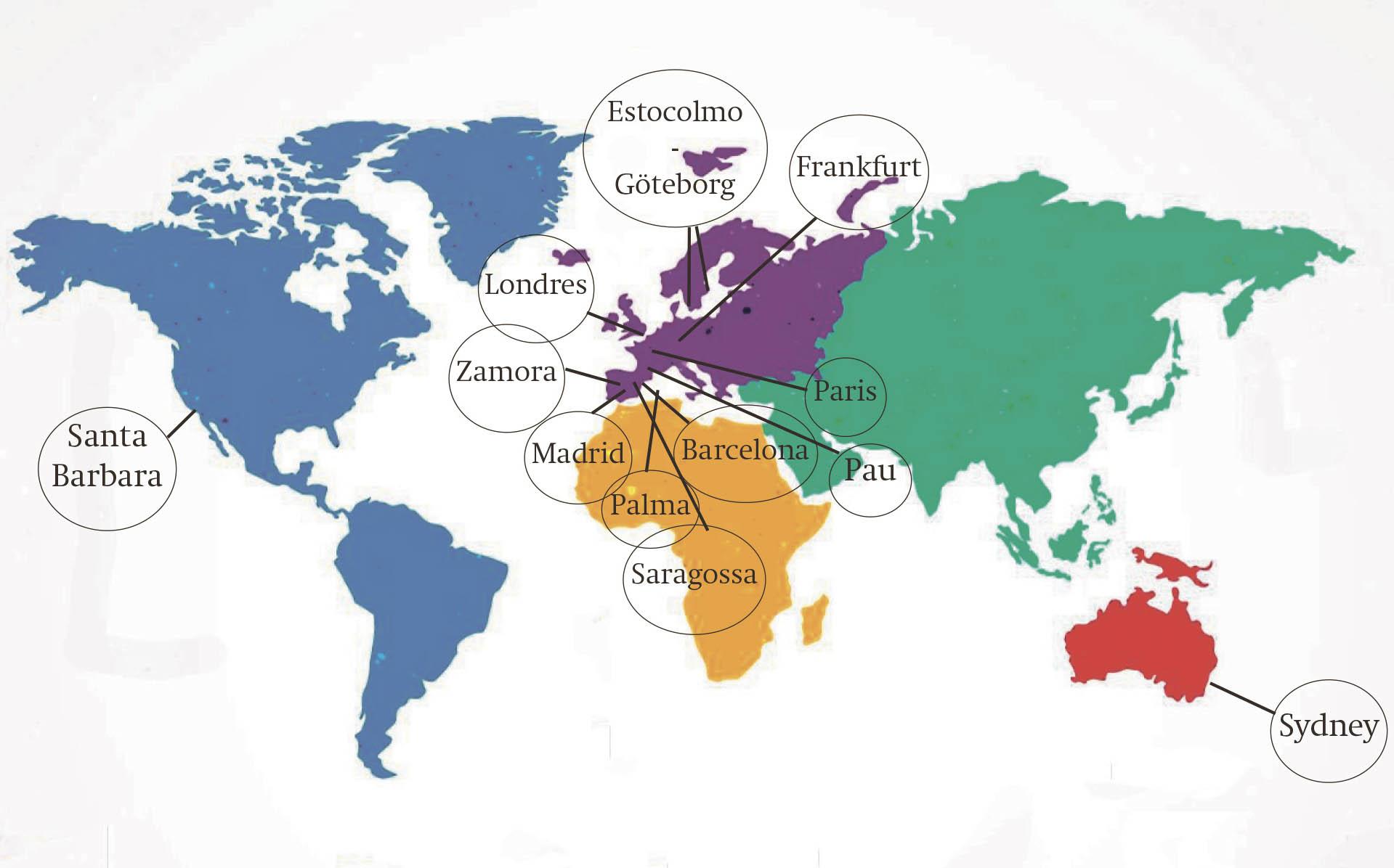 16 ontinyentins, en una xarxa de suport professional internacional El Periòdic d'Ontinyent