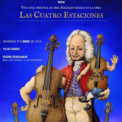 'Mi primer Vivaldi' produïda per Ara Malikian apropa la música clàssica als més menuts