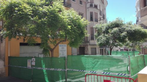 Tallen el pas per Festers pels despreniments d'un habitatge El Periòdic d'Ontinyent