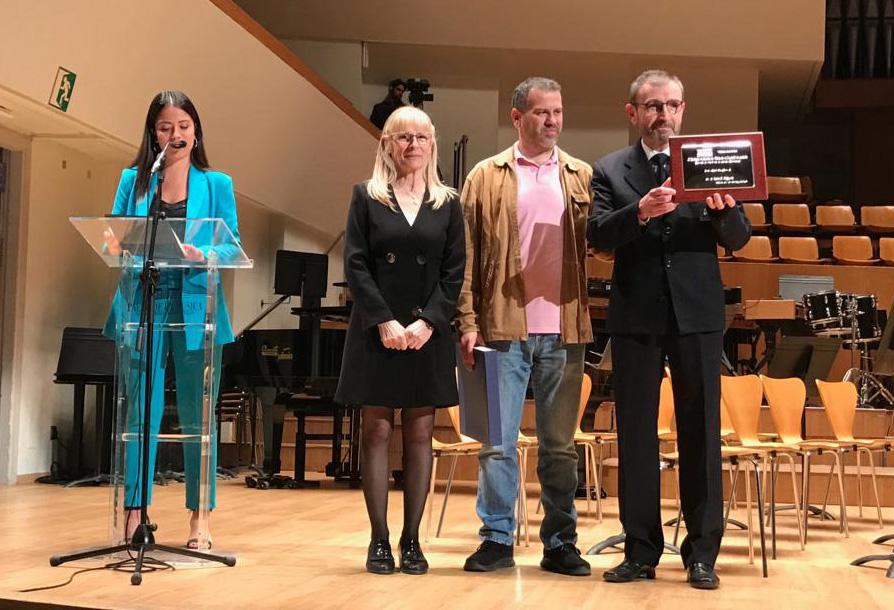 2n Premi per a Tot per la Música en el Certamen de Bandes de la Diputació El Periòdic d'Ontinyent