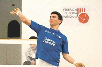 Ivan Esparza es classifica per a semifinals de l'individual de raspall El Periòdic d'Ontinyent