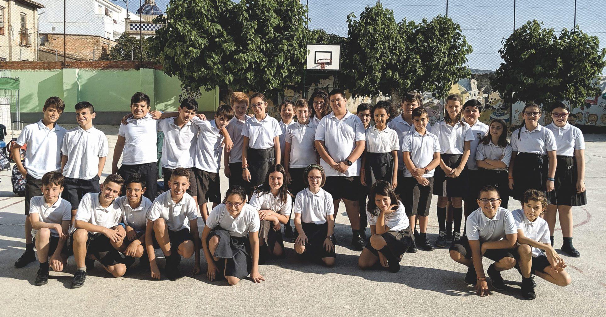 El taller de premsa escola de El Periòdic d'Ontinyent visita el col·legi Santa Maria El Periòdic d'Ontinyent