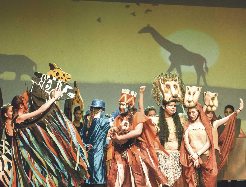 """El musical """"Simba, el nuevo rey"""" s'acomiada hui al Teatre Echegaray El Periòdic d'Ontinyent"""
