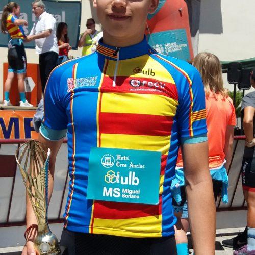 José Sanz, campió autonòmic contrarellotge