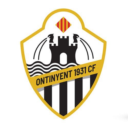 L'escut de l'Ontinyent 1931 C.F., un homenatge a la història del futbol en la ciutat