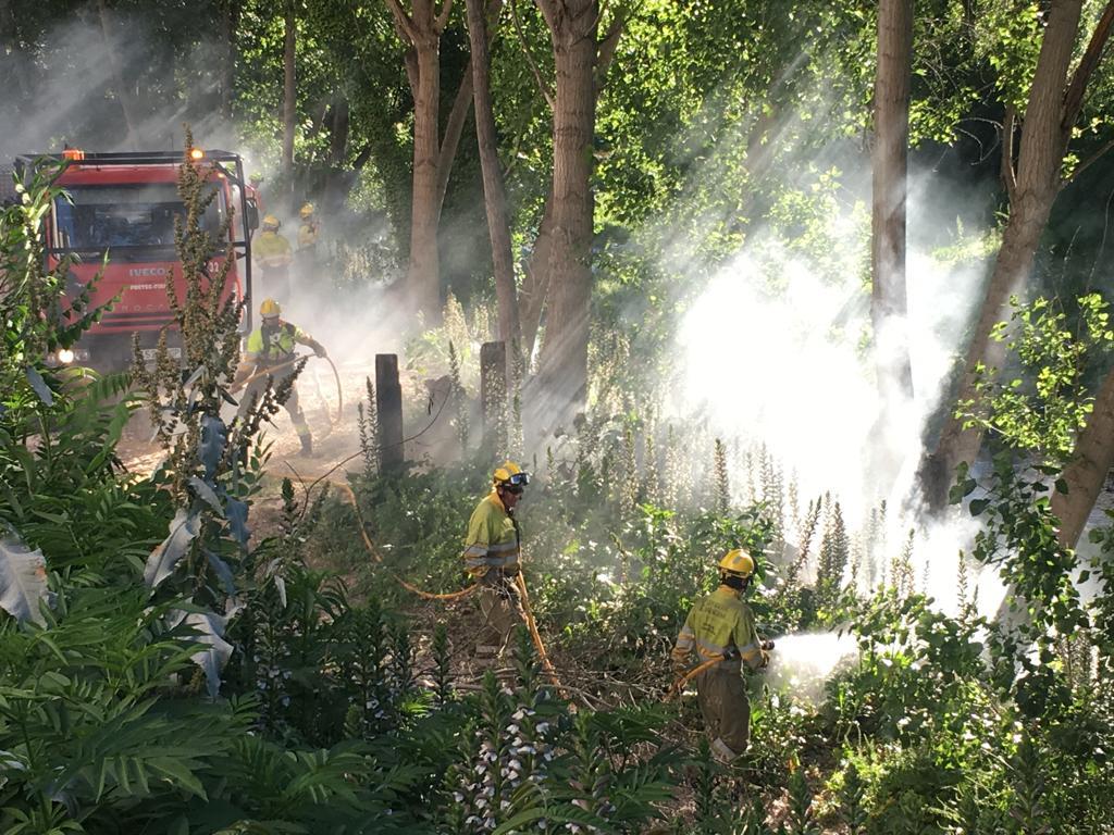 9 ferits lleus i un conat d'incendi al Bou de les Penyes El Periòdic d'Ontinyent