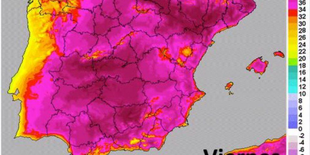 La ola de calor avisa que cada año cambiará de fecha, según caiga la Publicació