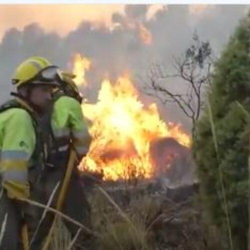 Màxim risc d'incendi a Ontinyent