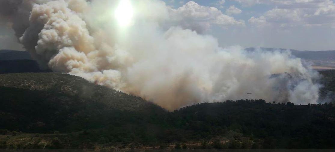 Crema l'Alt del Moro a Fontanars El Periòdic d'Ontinyent - Noticies a Ontinyent