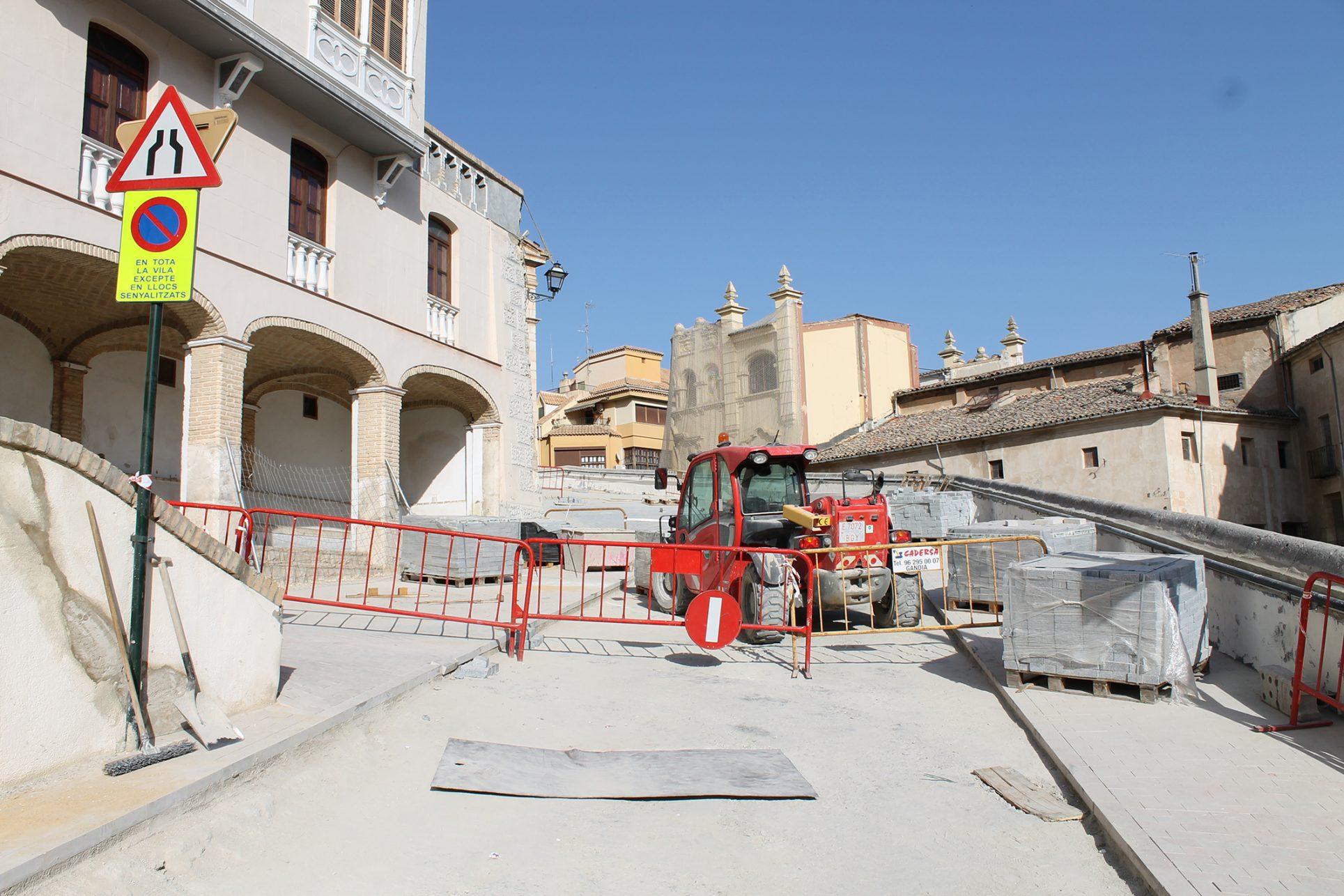 Les obres en la Vila provoquen malestar entre els veïns del barri El Periòdic d'Ontinyent