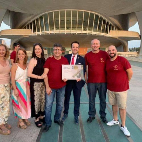 Daniel Ferrero guanya el Certamen Internacional de Bandes de València