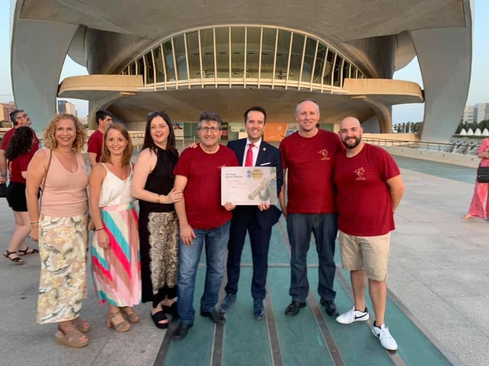 Daniel Ferrero guanya el Certamen Internacional de Bandes de València El Periòdic d'Ontinyent