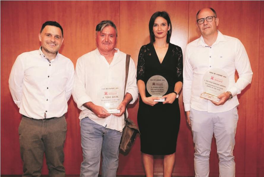 Toni Soler, Andrea Petru i Elu Mancebo, guardons especials a la Gala de l'Esport El Periòdic d'Ontinyent