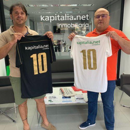 Kapitalia s'afegeix com a espònsor de l'Ontinyent 1931 C.F.
