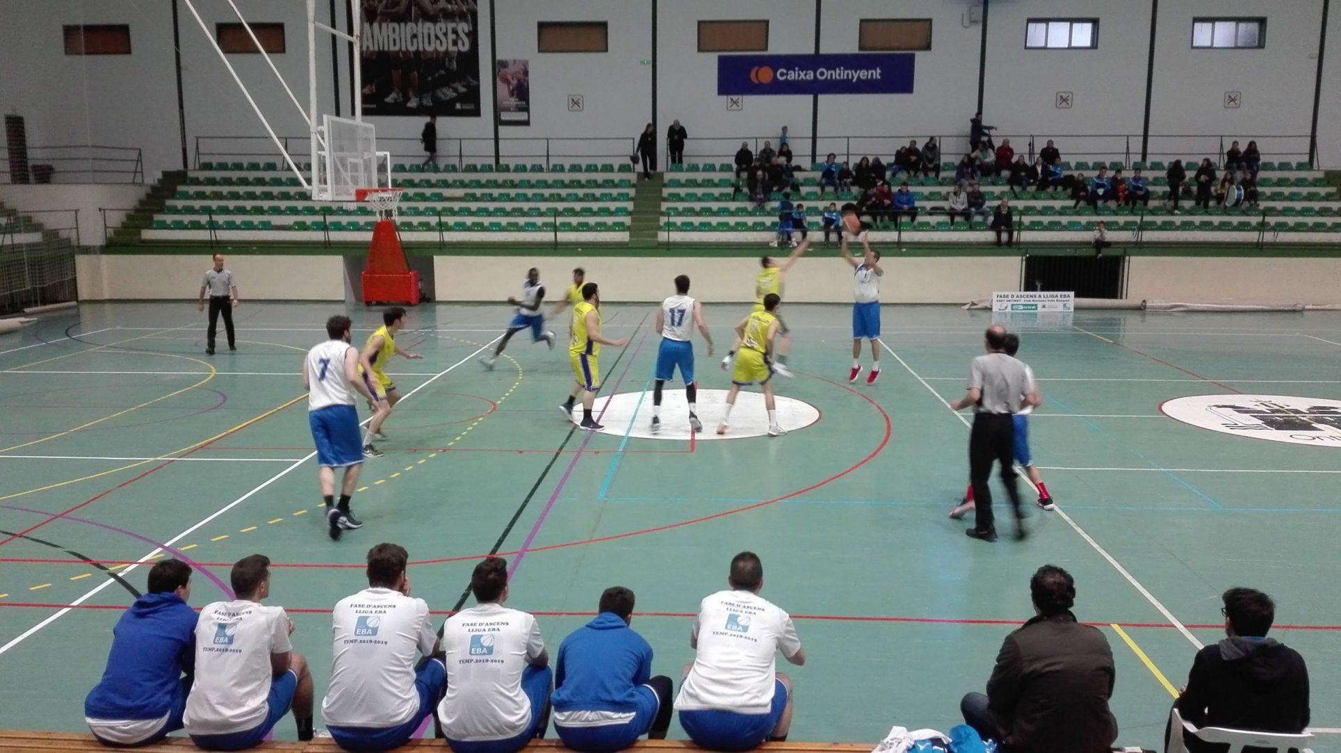El bàsquet de l'Eset Ontinet torna al Pavelló Municipal El Periòdic d'Ontinyent