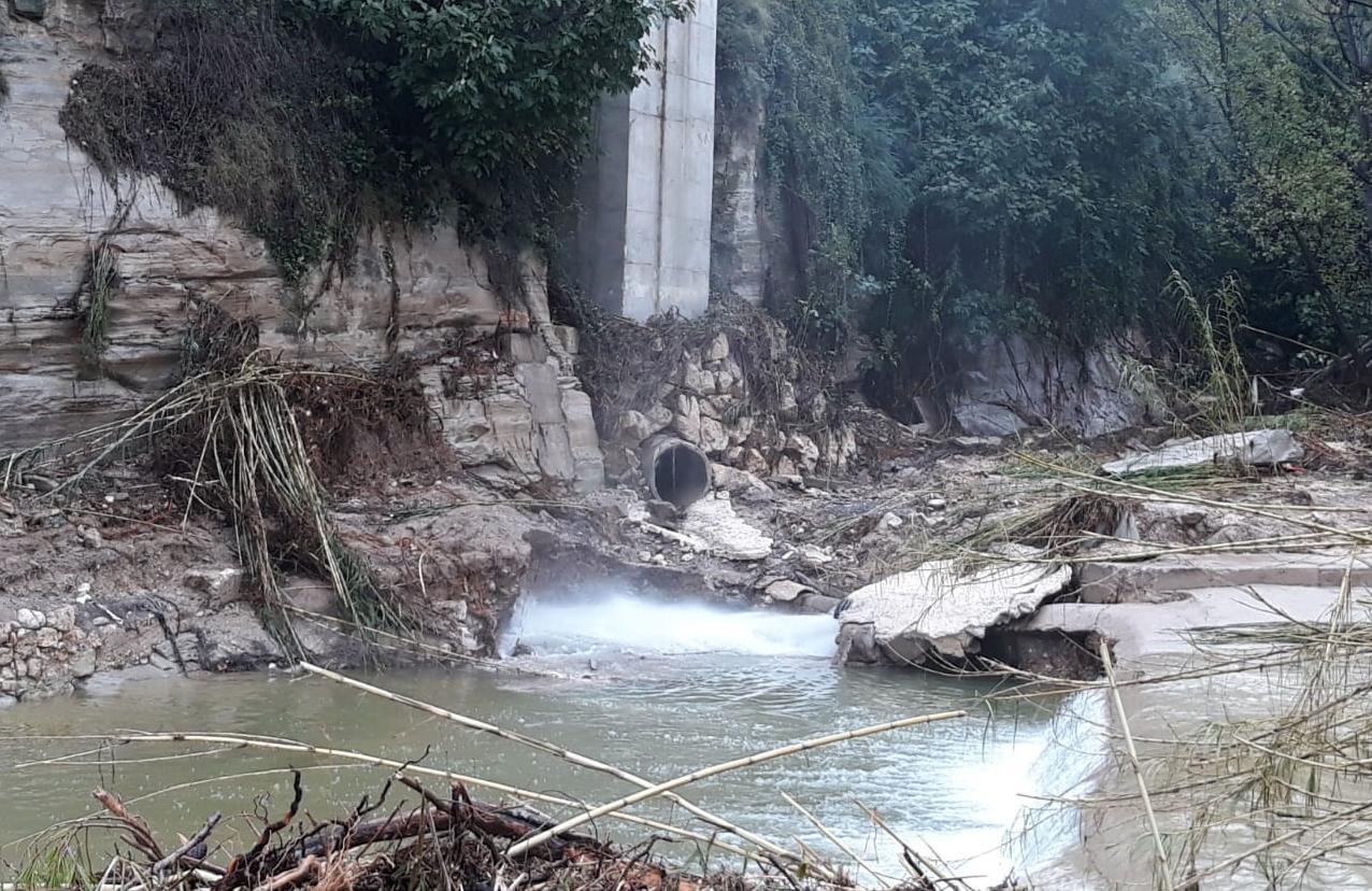 Les aigües fecals s'abocaran al riu fins que s'arregle el col·lector El Periòdic d'Ontinyent