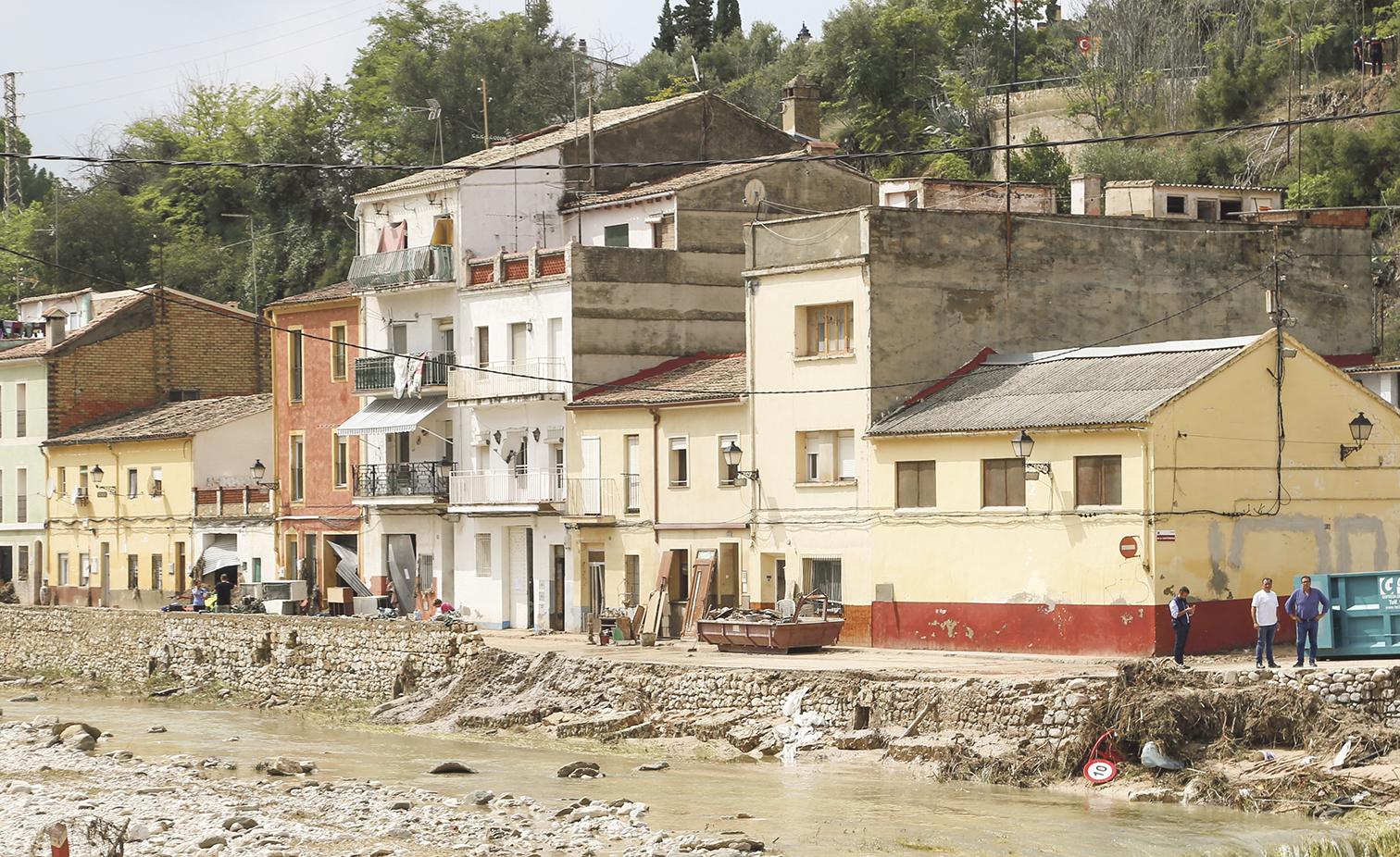 Enderrocaran les cases inundables de la Cantereria i faran una zona verda El Periòdic d'Ontinyent