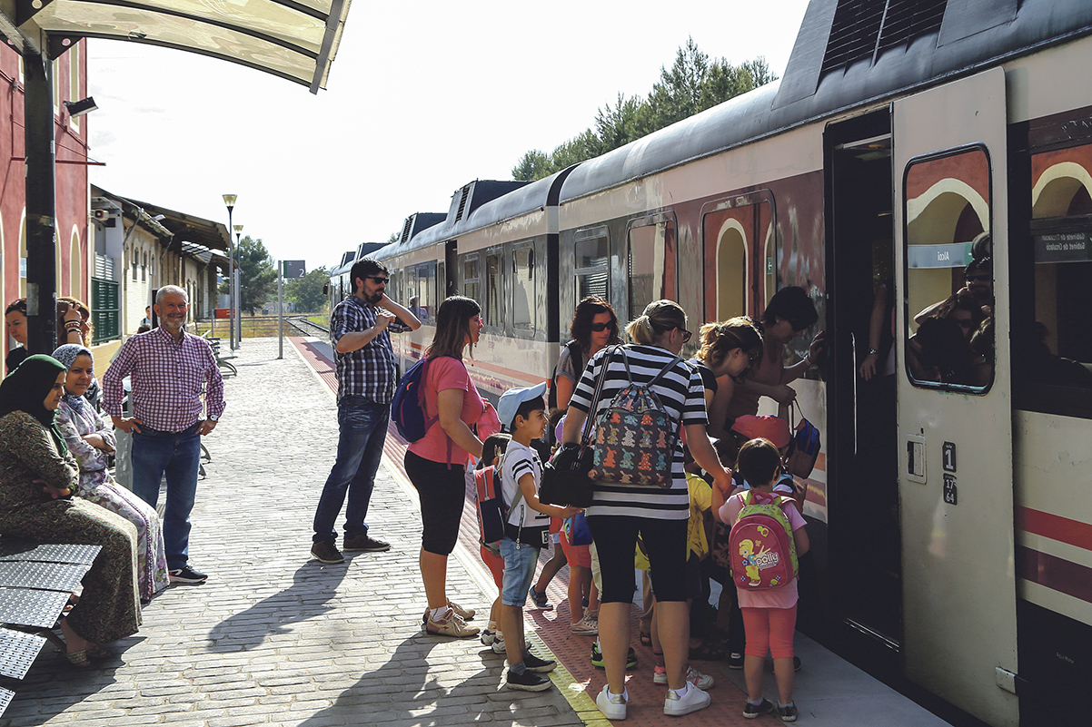 La línea de tren Xàtiva-Alcoi, de nuevo con deficiencias El Periòdic d'Ontinyent