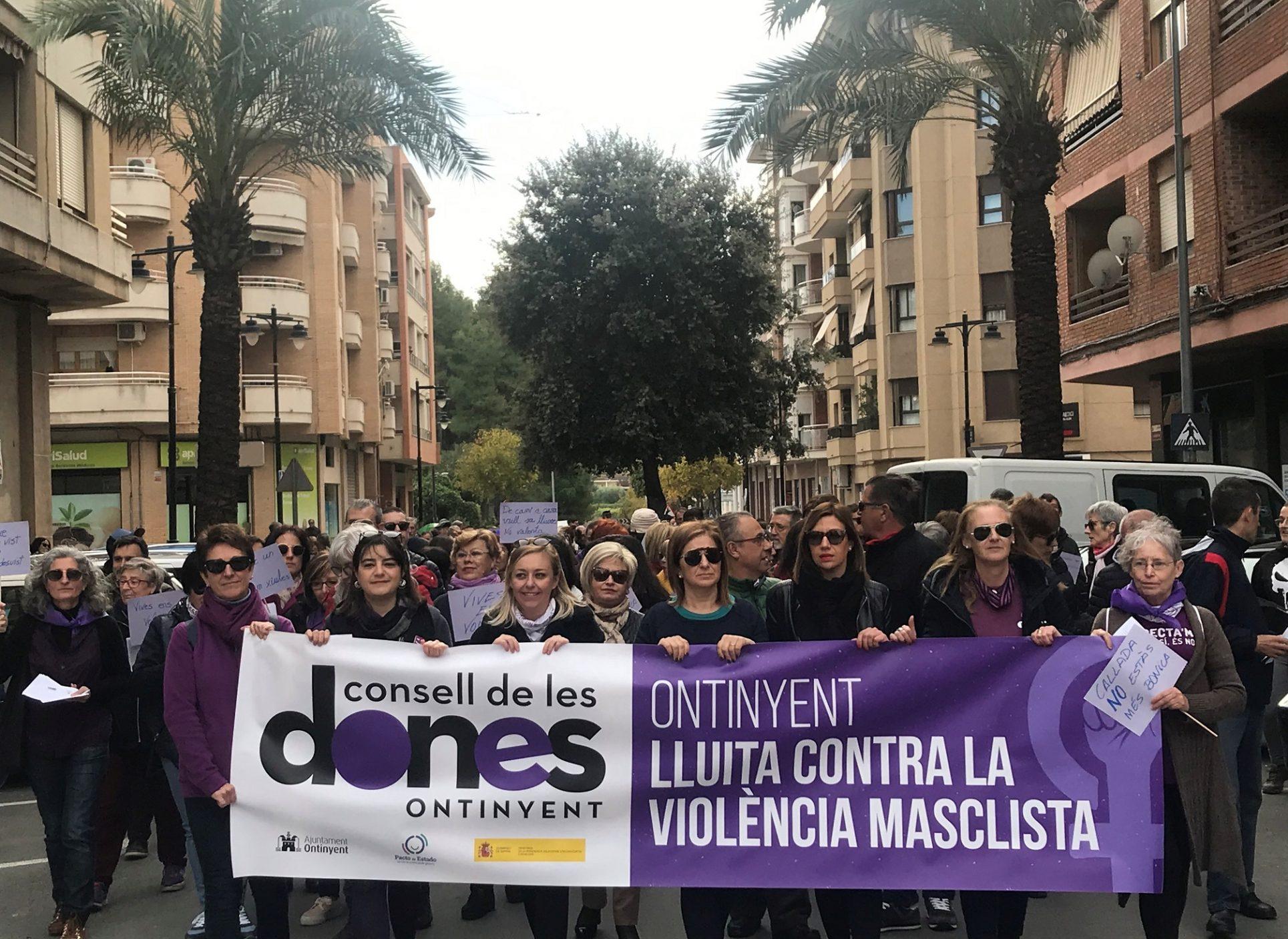 Ontinyent crida fort contra la violència de gènere El Periòdic d'Ontinyent
