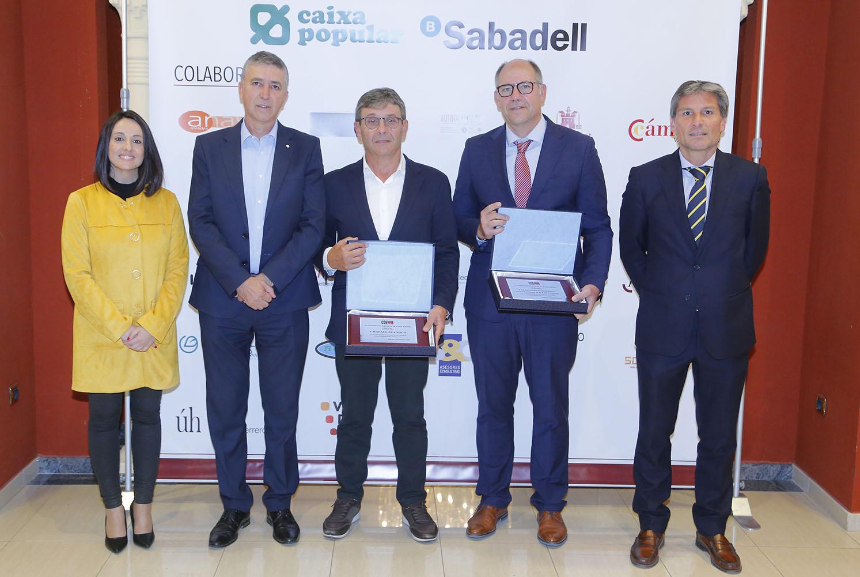 COEVAL reconeix als constructors i a Rafael Pla en el 1r Encontre d'Associats El Periòdic d'Ontinyent