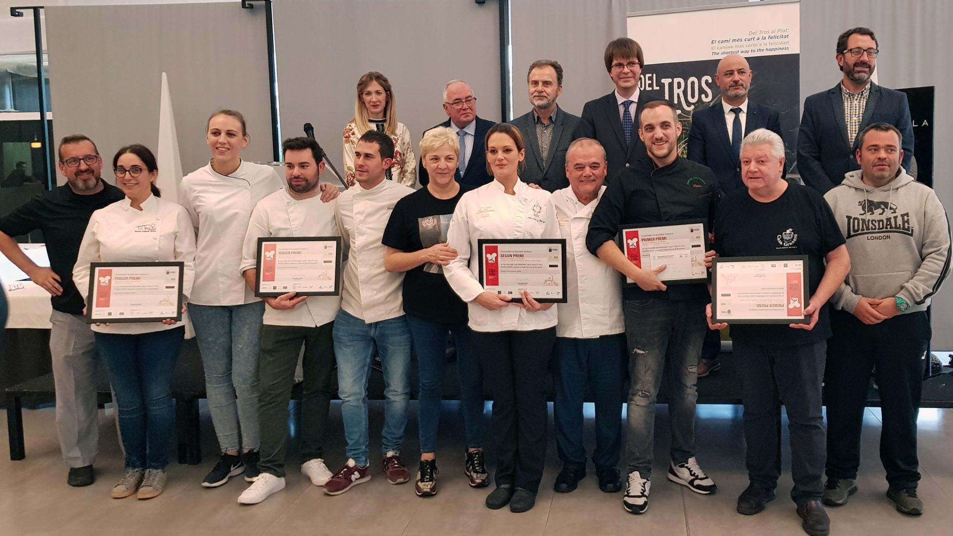L'Alfàbega i Casa Granero guanyen el 12 Concurs Gastronòmic de Bocairent El Periòdic d'Ontinyent
