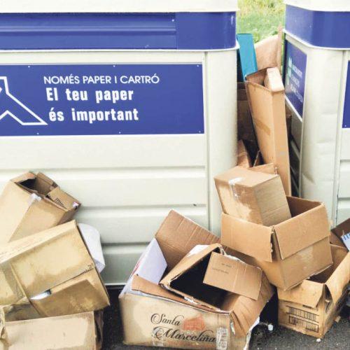 Guerra entre la Mancomunitat i l'Ajuntament per la recollida de residus