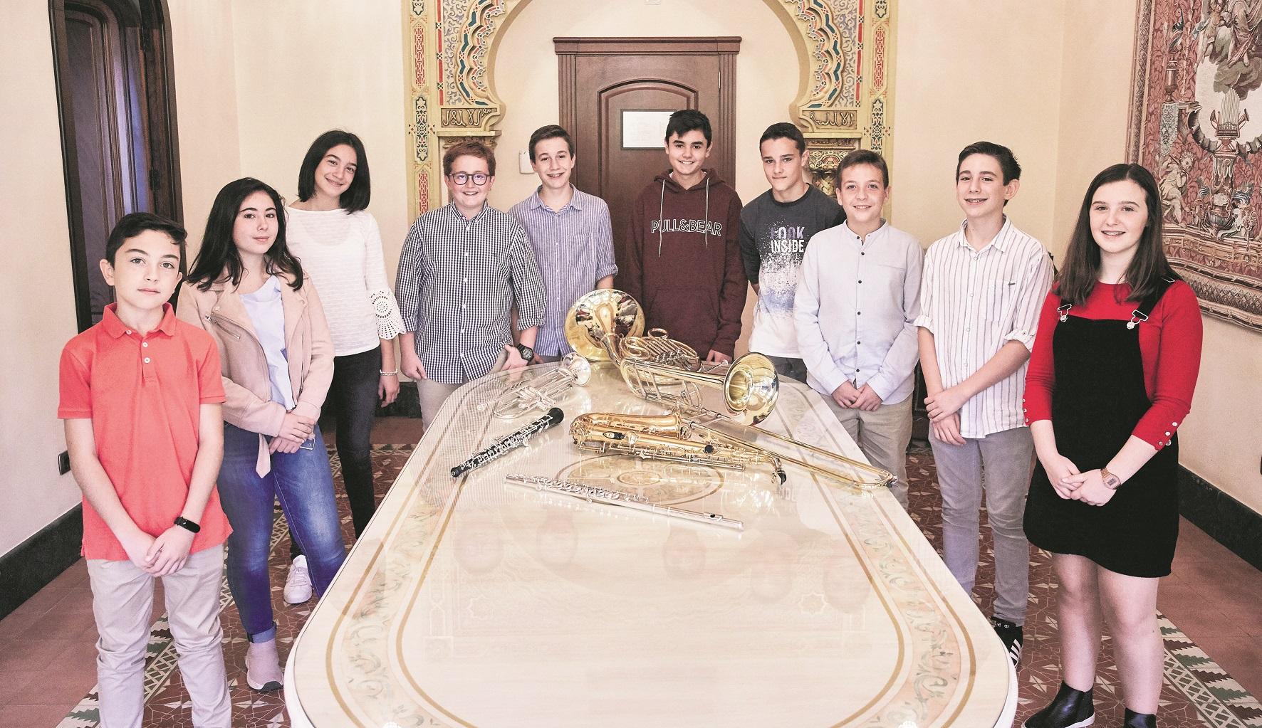 Santa Cecília, la il·lusió dels nous músics El Periòdic d'Ontinyent
