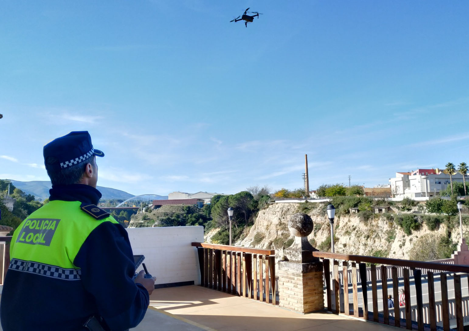 Dos drons ajudaran a millorar la seguretat i la resposta a l'emergència El Periòdic d'Ontinyent