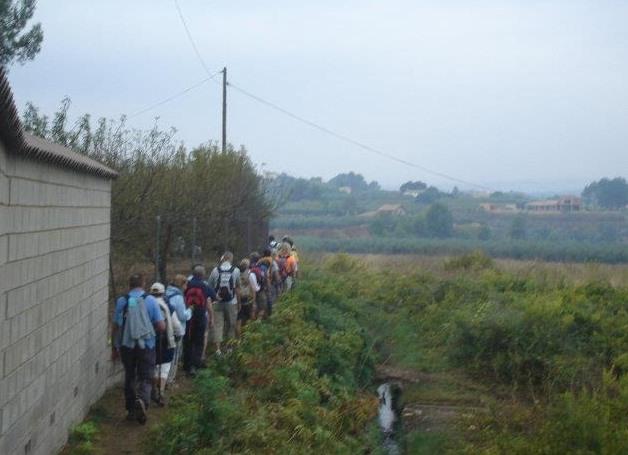Ontinyent, punt negre del Camí del Alba-Camí de Santiago El Periòdic d'Ontinyent