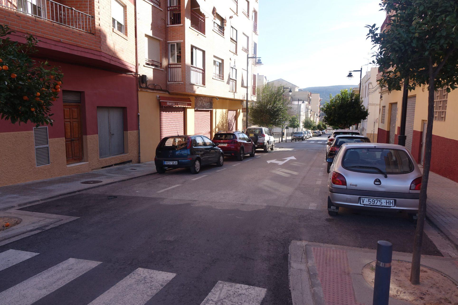 Canvis al trànsit viari al barri de Sant Rafel El Periòdic d'Ontinyent