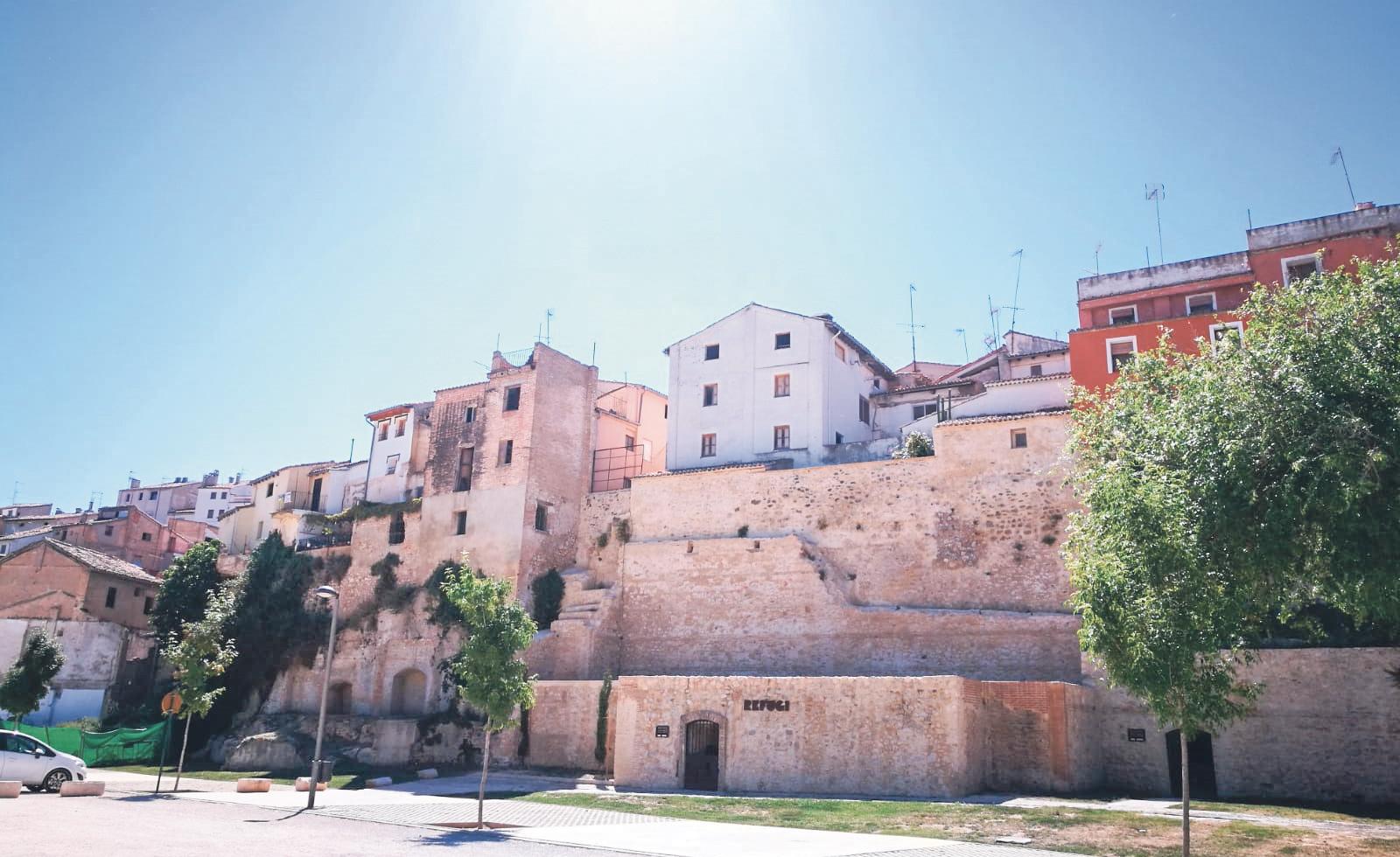 La Muralla nord i millora de l'accessibilitat del barri de la Vila prop de ser realitat El Periòdic d'Ontinyent