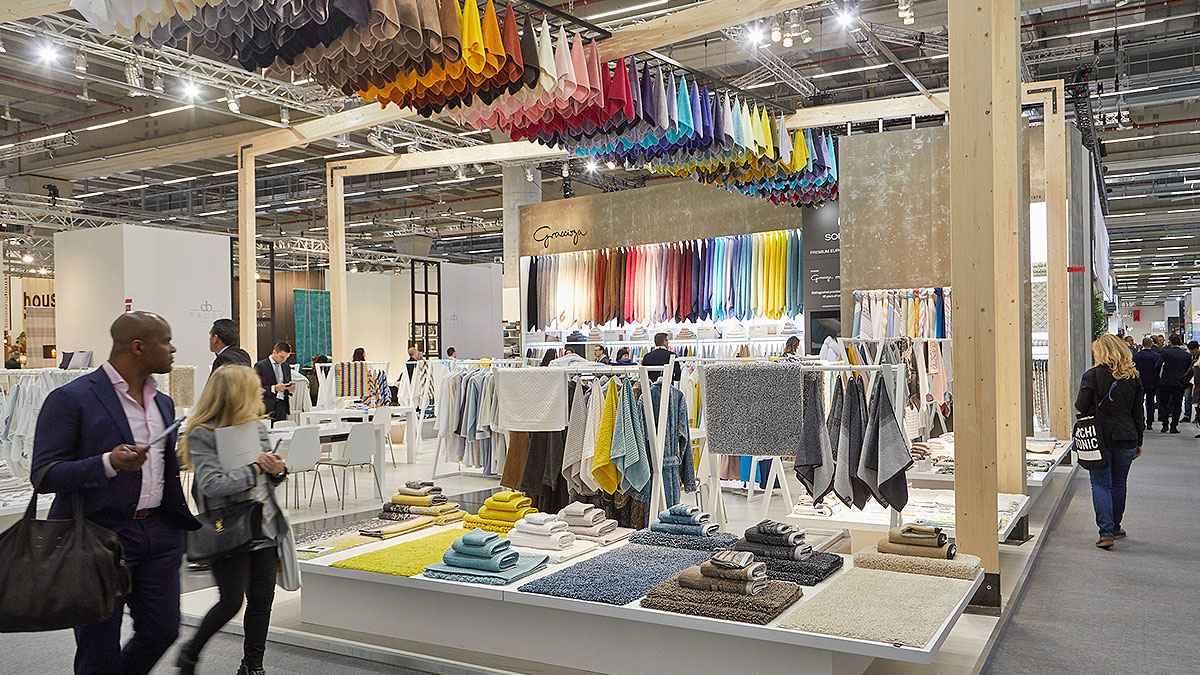 Les empreses tèxtils tornen de Frankfurt amb dos anuncis: Taula del tèxtil i Textilhogar El Periòdic d'Ontinyent