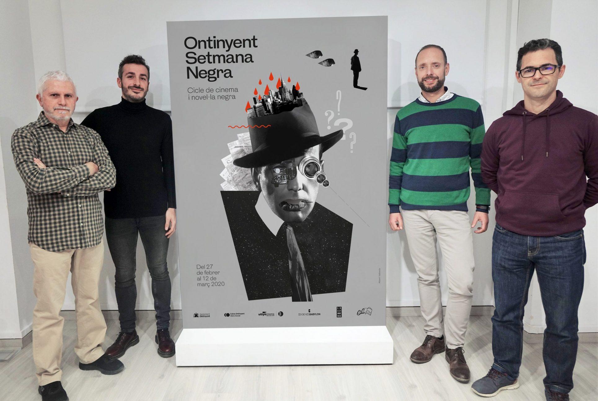 Víctor del Árbol rebrà el primer premi Setmana Negra d'Ontinyent El Periòdic d'Ontinyent