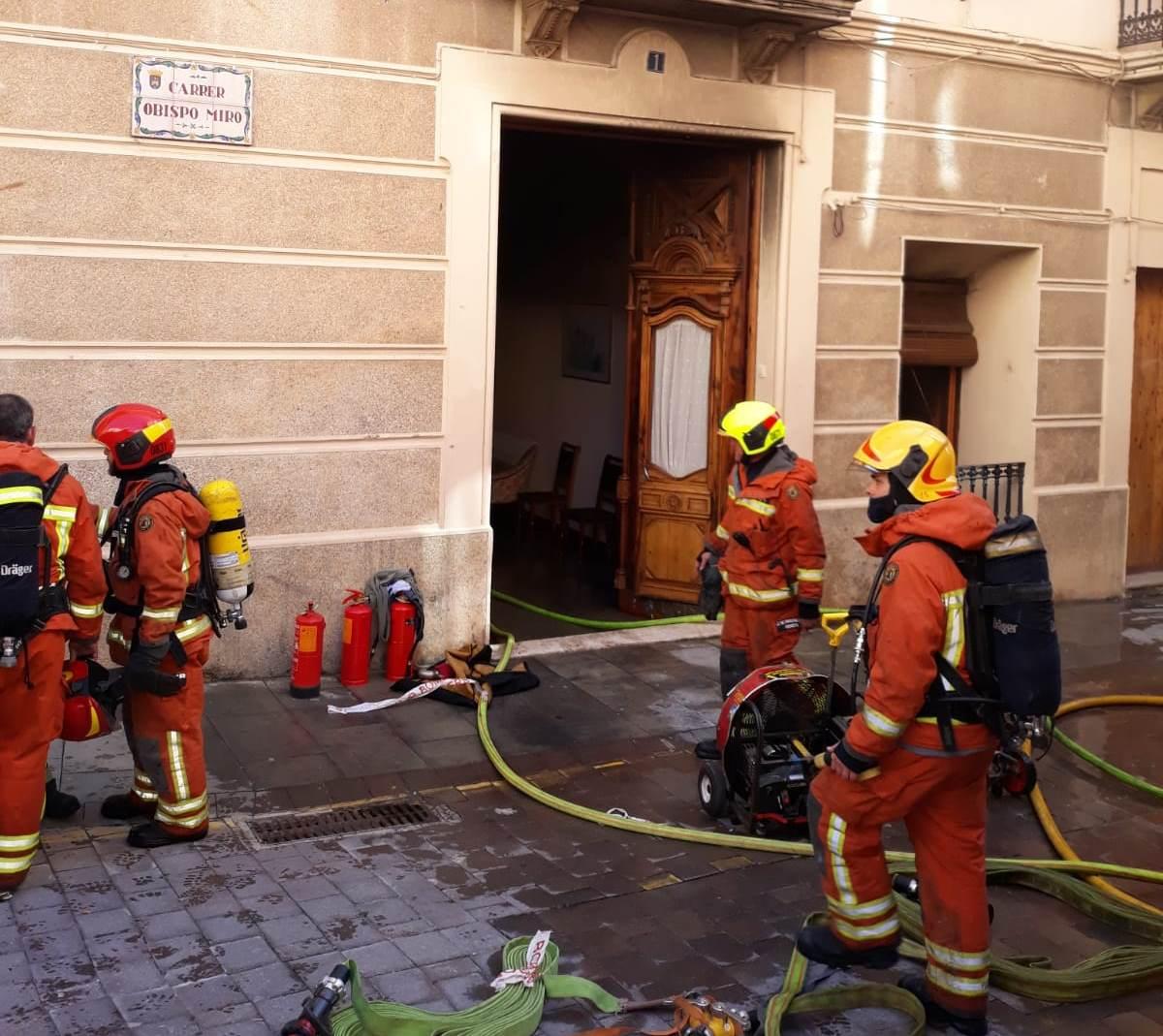 Mor una dona en un incendi a Bocairent El Periòdic d'Ontinyent