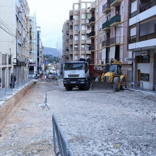 Reforma de carrers: seguir amb PintorSegrellesi demanen renovar José S. Marín