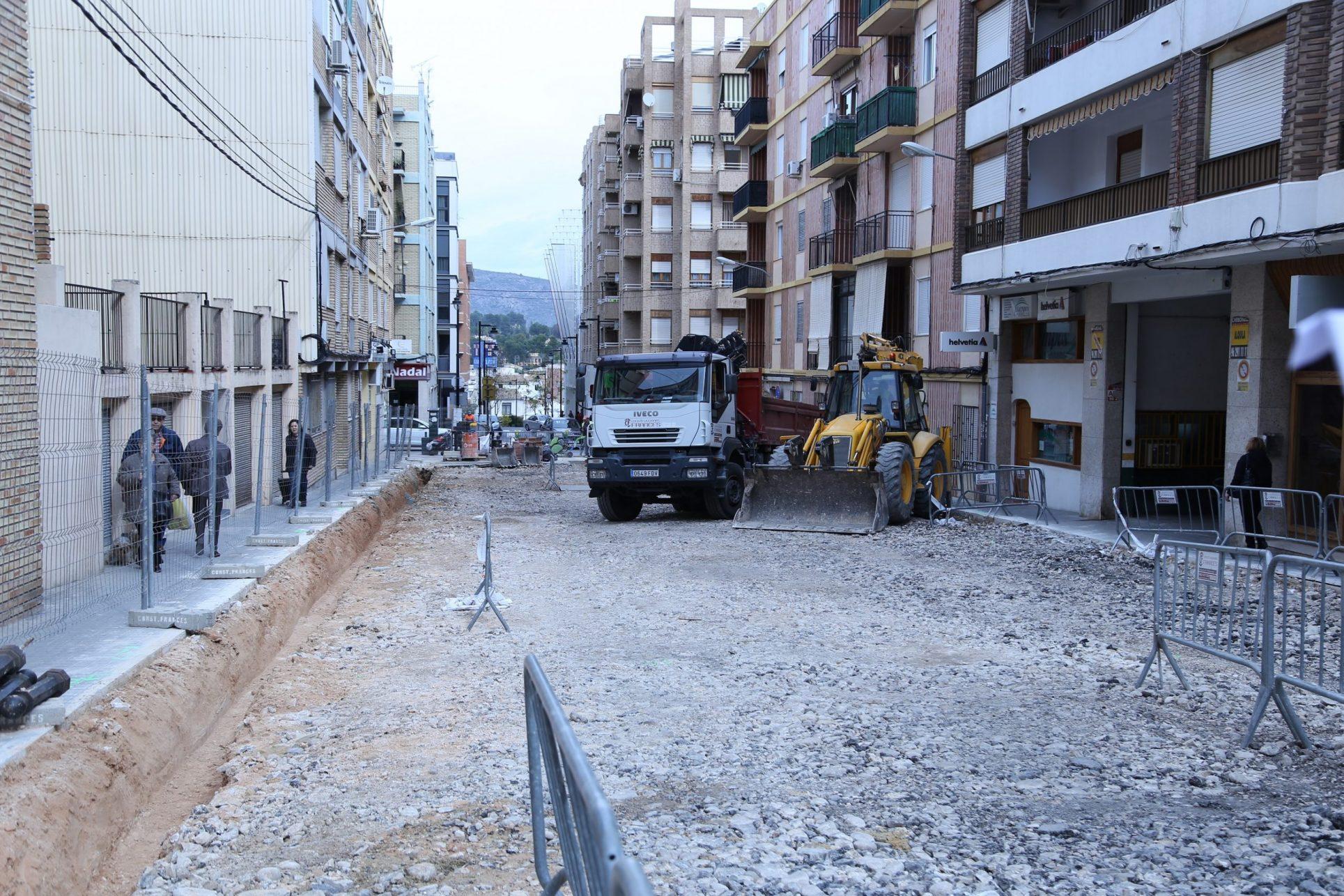 Reforma de carrers: seguir amb PintorSegrellesi demanen renovar José S. Marín El Periòdic d'Ontinyent - Noticies a Ontinyent