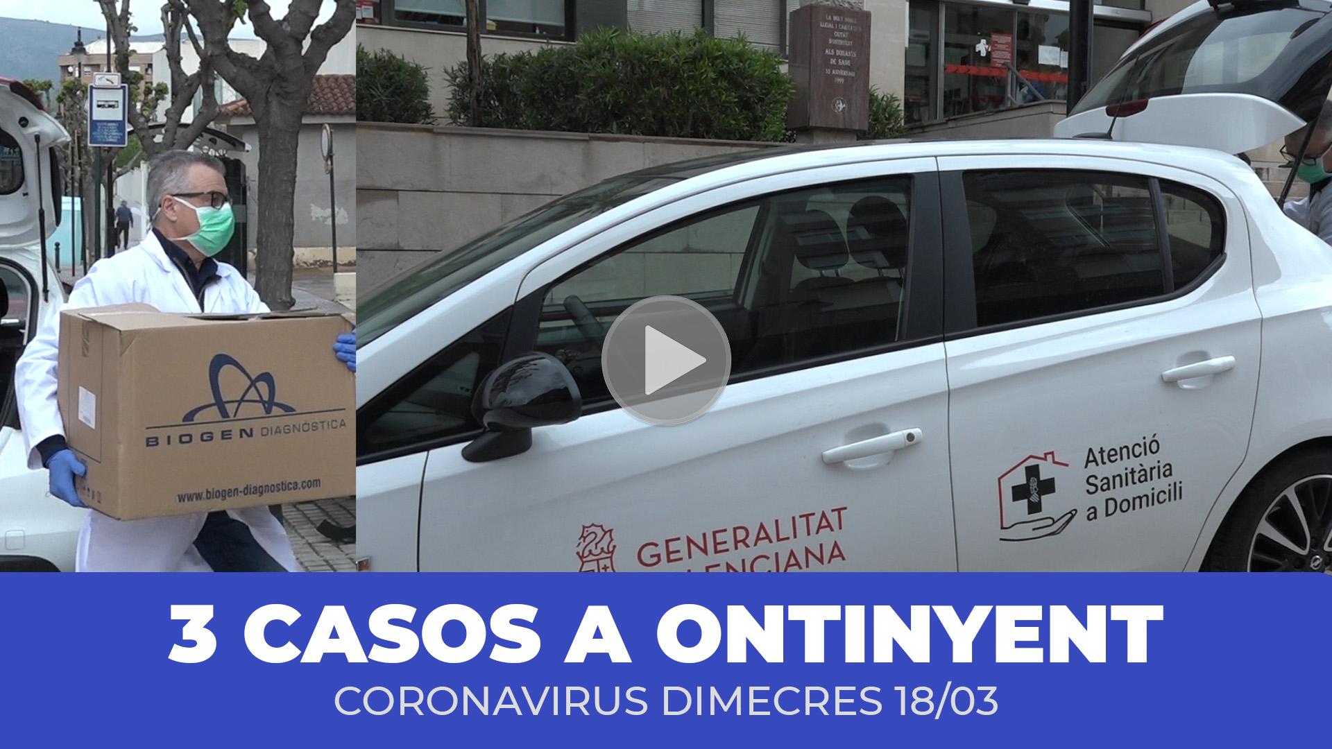 Tercer cas de coronavirus a Ontinyent El Periòdic d'Ontinyent